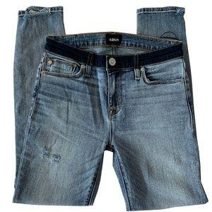 Hudson Midrise Nico Crop Jeans